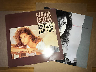 £2.99 • Buy GLORIA ESTEFAN 2 X LS's…ANYTHING FOR YOU/ CUTS BOTH WAYS …VG