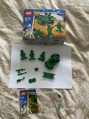 £10 • Buy LEGO Toy Story Green Army Men On Patrol (7595) With Box - Complete -Disney Pixar