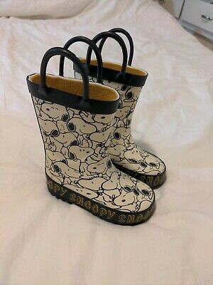 £1.50 • Buy Toddler Wellies Snoopy Size 4 Baby Wellington Boots. Mothercare