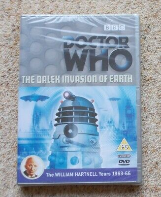 £2.99 • Buy Mrj/ Doctor Who The Dalek Invasion Of Earth William Hartnell Bbc Dvd Brand New