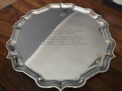 £440 • Buy Solid Silver Tray National Hunt