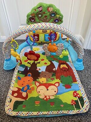 £14.99 • Buy Fisher Price Kick And Play Piano Gym Baby Play Mat