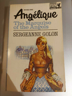 £6 • Buy Angelique The Marquise Of The Angels - Sergeanne Golon - Pan Books 1966 (9th)