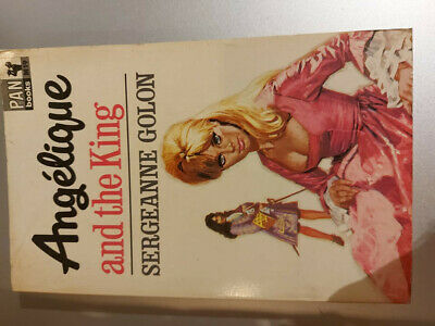 £3 • Buy Angelique And The King - Sergeanne Golon - Pan Books 1966