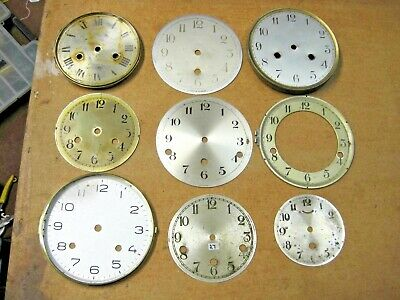 £6.99 • Buy Antique/Vintage Clock Dials/Faces/Chapter Rings