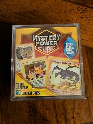 $18 • Buy Pokemon Mystery Power Cube 2020 Ultra RARE - Pack Of 60 Cards Sealed