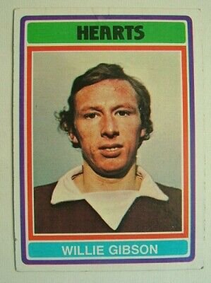 £1.99 • Buy Topps Chewing Gum Inc.  Willie Gibson, Hearts.  Card No. 77