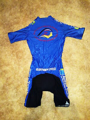 £90.36 • Buy BRAND NEW Pacific Games Blue Track Cycling Skin Suit (Winning Team Of 2006)
