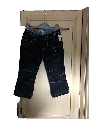 £1.50 • Buy Boys Denim Adjustable Waist Jeans Age 2-3 Years By Superfly