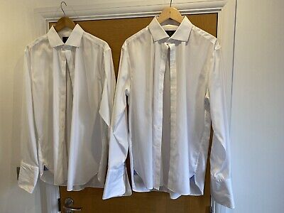 £10 • Buy 2 M&S Luxury Cotton Shirts - 16.5in Collar
