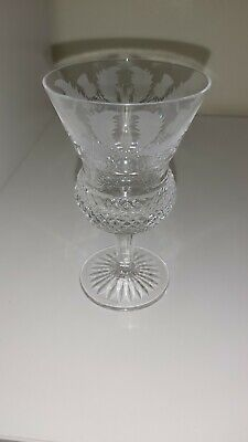 £19.99 • Buy Edinburgh Crystal 'THISTLE' Engraved Sherry Glass 4 5/8 Inches Tall