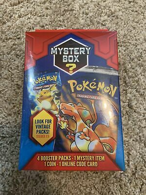 $159.99 • Buy Pokemon Mystery Box Vintage Packs Seeded 1:5 Cards Boxes Sealed NEW Walgreens