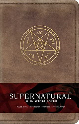 £13.52 • Buy Supernatural: John Winchester Hardcover Ruled Journal Insights Journals Science