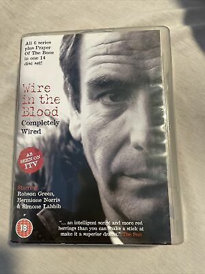 £14.52 • Buy WIRE IN THE BLOOD Complete Series, Robson Green, REGION 2 PAL14 DVD Set