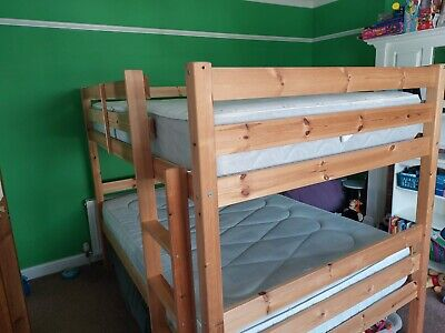 £34 • Buy Double Bunk Bed With Mattress