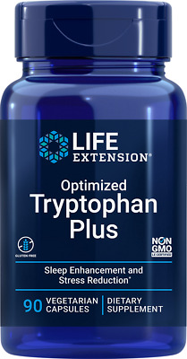 £28.94 • Buy Life Extension Optimized Tryptophan Plus 90 Vegetarian Capsules Relaxation Sleep