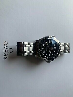 £3600 • Buy OMEGA Seamaster 300M Co-Axial Master Chronometer Black Watch - Only 6 Mths Old