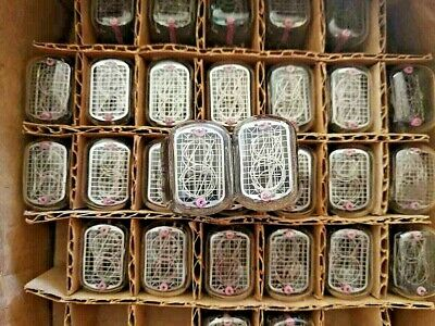 £50.82 • Buy 10 Pcs IN-12B And IN-12A Vintage Soviet Nixie Tubes For Clock, Tested 100%