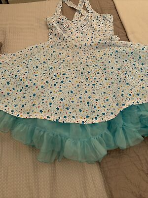 £20 • Buy Stunning 1950s Rock & Roll Dress With Separate Petticoat Size 12/14