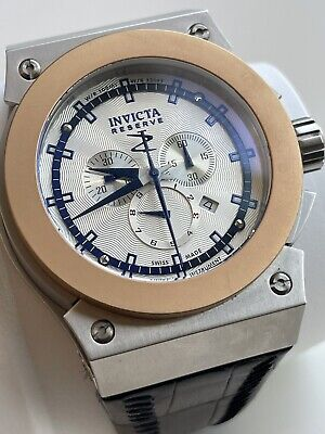 View Details Invicta Akula Reserve Russian Divers Chronograph Watch Model 10950 Swiss Made • 150£