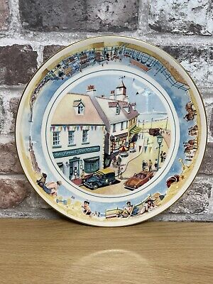 £4.99 • Buy Ringtons Collectors Ltd Plate By Masons 1996 Seaside Days Holiday Home Beach Hut
