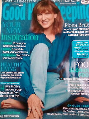£3.99 • Buy Woman And Home Magazine October 2021 Fiona Bruce