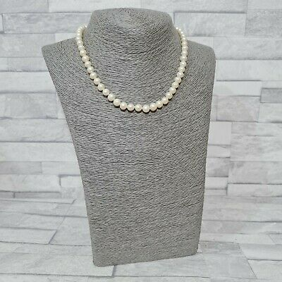 £19 • Buy GENUINE Real Pearl Necklace 42cm Weighty Cream Pearls Statement Jewellery
