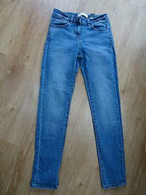 £0.99 • Buy NEXT Ladies Medium Blue Relaxed Skinny Mid Rise Jeans UK 8 LONG Excellent