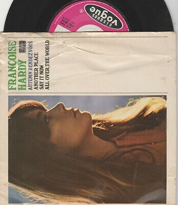 £1.30 • Buy Francoise Hardy Disques Vogues VRE 5018 VG/VG