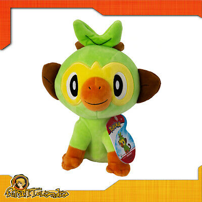 $41.04 • Buy Plush Soft Toy Original Official Pokemon Grookey Large Official Plush 7 7/8in
