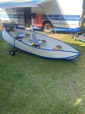 AU900 • Buy Portable Folding Boat With Outboard Motor