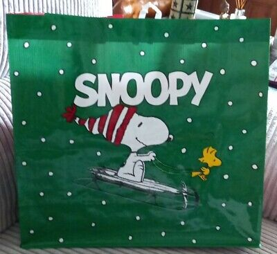 £4.99 • Buy Tesco Exclusive And Limited Edition Woven Bag Snoopy # Christmas