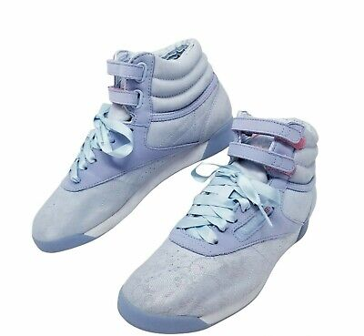 £54.84 • Buy Reebok 25th Freestyle Classic Anniversary Womens Size 7.5 Blue Lace Ribbon Shoes