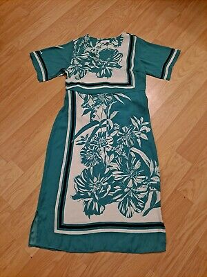 AU5.66 • Buy Womens Principles Turquoise Long Special Occasion Dress Size 14