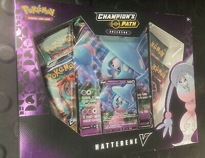 $24 • Buy Pokemon TCG Champions Path Hatterene V Collection Booster Box, Factory Sealed