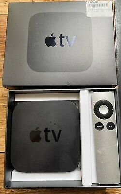 AU41 • Buy Apple TV (2nd Generation) HD Media Streamer (A1378) - In Box With Remote, Cord