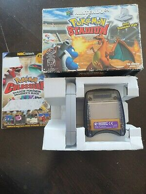 $34.36 • Buy Pokemon Stadium (Nintendo 64, 2000) N64. Boxed With Transfer Pack And Guide