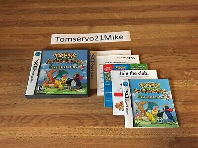 $44.95 • Buy Pokemon Mystery Dungeon: Explorers Of Sky (DS, 2009) Case And Manual NO GAME