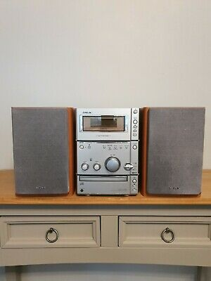 £34.99 • Buy Sony CMT-CPX1 HI-FI System CD Player FM Tuner. Speakers - No Remote. READ DESCR