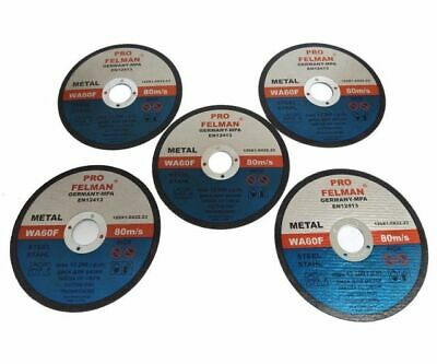 £6 • Buy   125mm 5  Ultra Thin Metal Cutting Disc 1/2  Stainless Steel & Steel