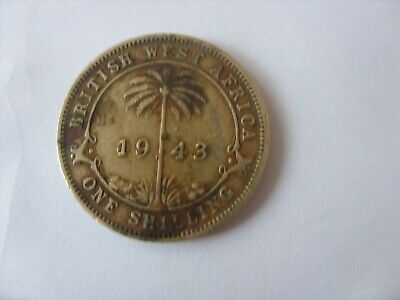 £0.99 • Buy One Shilling 1943 British West Africa