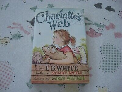 £8.77 • Buy Vintage Charlotte's Web By E.B. White Hardcover Dust Jacket Overbind Books Rare