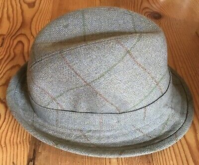 £24.99 • Buy OLNEY Tweed Hat. Size 6 7/8ths  Brand New Without Tags