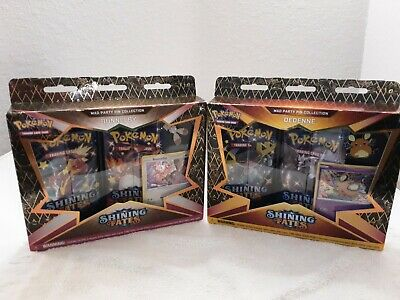 $33 • Buy Pokemon Shining Fates Dedenne And Bunnelby Mad Party Pin Factory Sealed Boxes