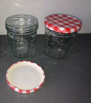 £1 • Buy Bonne Maman 2 Jam Jars With Red Lids, Capacity 370g Each (used Once)