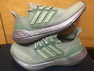 AU61.75 • Buy Adidas UltraBoost Womens Size 6 Ultra Boost Shoes Running Shoes Green Rare USA