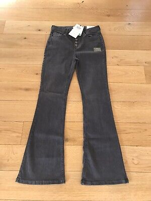 £19.99 • Buy Dorothy Perkins Shape And Lift Flares Jeans Grey UK14