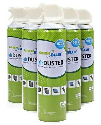 £6.76 • Buy 600ml Air Duster Dust Blower Compressed Gas With Straw PC Laptop Multipacks UK