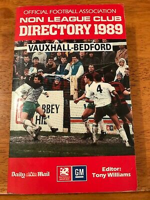 £3 • Buy The Official Football Association Non League Club Directory 1989
