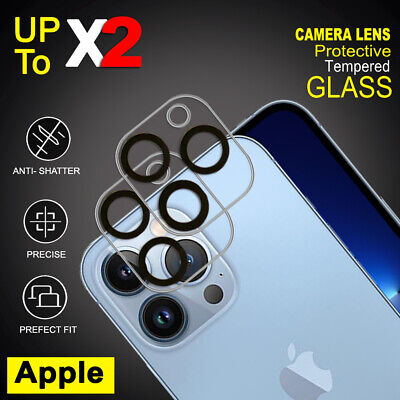 AU5.99 • Buy For Apple IPhone 13 12 Pro Max 13 12 Mini Camera Lens Tempered Glass Protector